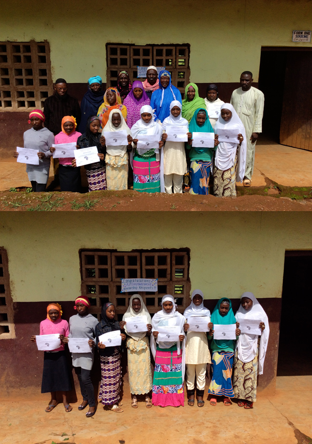 2015 - North West Region - Jakiri, recipients at the beginning of the year.