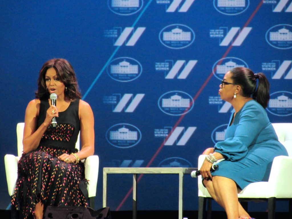 First Lady and Oprah